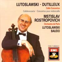 DUTILLEUX, H.: Tout un monde lointain … / LUTOSLAWSKI, W.: Cello Concerto (Rostropovich, Baudo, Lutoslawski)
