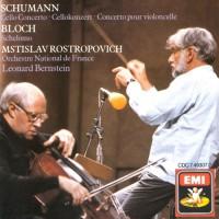 SCHUMANN, R.: Cello Concerto / BLOCH, E.: Schelomo (Rostropovich, French National Orchestra, Bernstein)