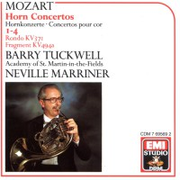 MOZART, W.A.: Horn Concertos (Tuckwell, Marriner)