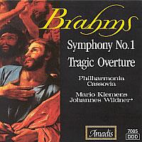 布拉姆斯:C小调第一交响曲/悲剧序曲 BRAHMS: Symphony No. 1 / Tragic Overture