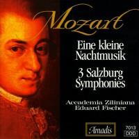 莫扎特:一首小型夜曲/第一至第三萨尔茨堡交响曲 MOZART: Kleine Nachtmusik (Eine) / Salzburg Symphonies Nos. 1-3