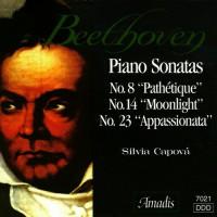 """贝多芬:第八钢琴奏鸣曲,""""悲怆"""",第十四钢琴奏鸣曲,""""月光""""和第二十三钢琴奏鸣曲""""热情"""" BEETHOVEN: Piano Sonatas Nos. 8, 14 and 23"""