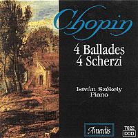 肖邦:四首叙事曲/四首谐谑曲 CHOPIN: 4 Ballades / 4 Scherzos