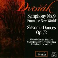 """德沃夏克:第九交响曲,""""自新大陆""""/第九、第十、第十五和第十六斯拉夫舞曲 DVORAK: Symphony No. 9,"""