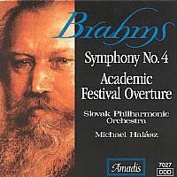 布拉姆斯:E小调第四交响曲/学院节庆序曲 BRAHMS: Symphony No. 4 / Academic Festival Overture