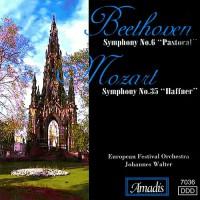 """贝多芬:第六交响曲,""""田园""""/莫扎特:第三十五交响曲,""""哈夫纳"""" BEETHOVEN: Symphony No. 6 / MOZART: Symphony No. 35"""