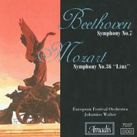 """贝多芬:A大调第七交响曲/莫扎特:C大调第三十六交响曲,""""林茨"""" BEETHOVEN: Symphony No. 7 / MOZART: Symphony No. 36"""