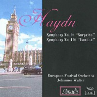 """海顿:第九十四交响曲,""""惊愕""""和第一0四交响曲""""伦敦"""" HAYDN: Symphonies Nos. 94,"""