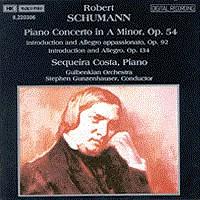 舒曼,R.:A小调钢琴协奏曲/引子和快板,作品92和作品134 SCHUMANN, R.: Piano Concerto in A Minor / Introduction and Allegro appassionato