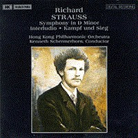 施特劳斯,R.:D小调第一交响曲/间奏曲 STRAUSS, R.: Symphony No. 1 in D Minor / Interludio