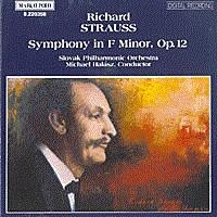 施特劳斯,R.:F小调第二交响曲,作品12 STRAUSS, R.: Symphony No. 2 in F Minor, Op. 12
