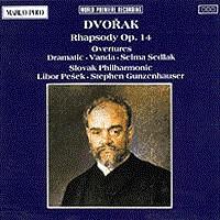 德沃夏克:第十四狂想曲/序曲 DVORAK: Rhapsody Op. 14 / Overtures