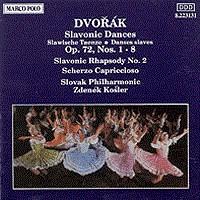 德沃夏克:斯拉夫舞曲,作品72/斯拉夫狂想曲 DVORAK: Slavonic Dances, Op. 72 / Slavonic Rhapsody