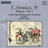 施特劳斯,小约翰:专辑系列-第1辑 STRAUSS II, J.: Edition - Vol.  1
