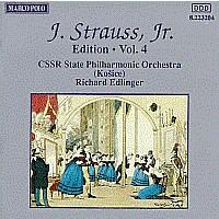 施特劳斯,小约翰:专辑系列-第4辑 STRAUSS II, J.: Edition - Vol.  4