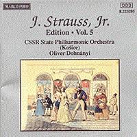 施特劳斯,小约翰:专辑系列-第5辑 STRAUSS II, J.: Edition - Vol.  5