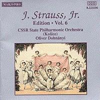 施特劳斯,小约翰:专辑系列-第6辑 STRAUSS II, J.: Edition - Vol.  6
