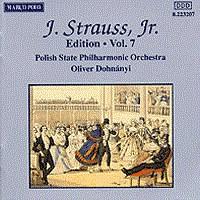 施特劳斯,小约翰:专辑系列-第7辑 STRAUSS II, J.: Edition - Vol.  7