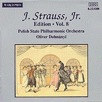 施特劳斯,小约翰:专辑系列-第8辑 STRAUSS II, J.: Edition - Vol.  8