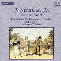 施特劳斯,小约翰:专辑系列-第9辑 STRAUSS II, J.: Edition - Vol.  9