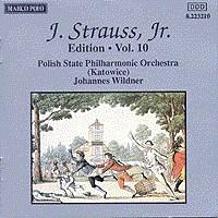 施特劳斯,小约翰:专辑系列-第10辑 STRAUSS II, J.: Edition - Vol.  10