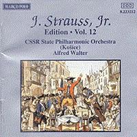 施特劳斯,小约翰:专辑系列-第12辑 STRAUSS II, J.: Edition - Vol. 12